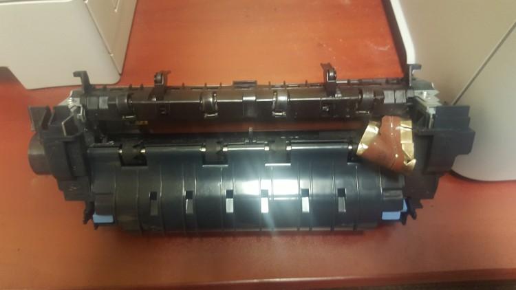 printer ink cartridge being recycled in las vegas