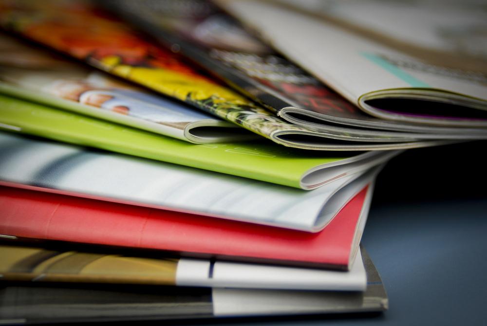 Print advertising brochures